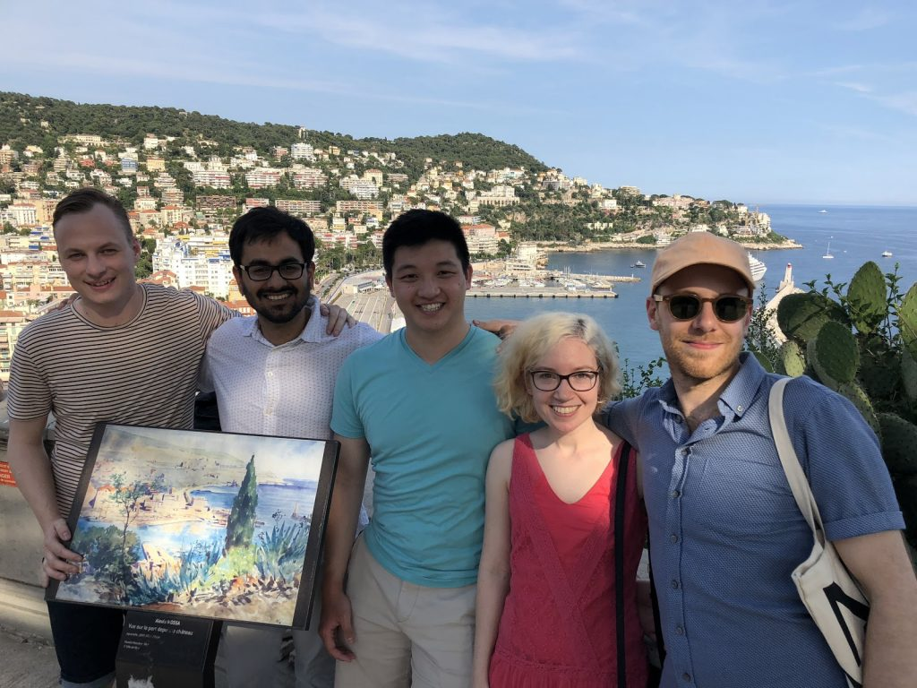 """Peter and fellow Connectors at the Cannes Lions """"Change for Good"""" Hackathon"""