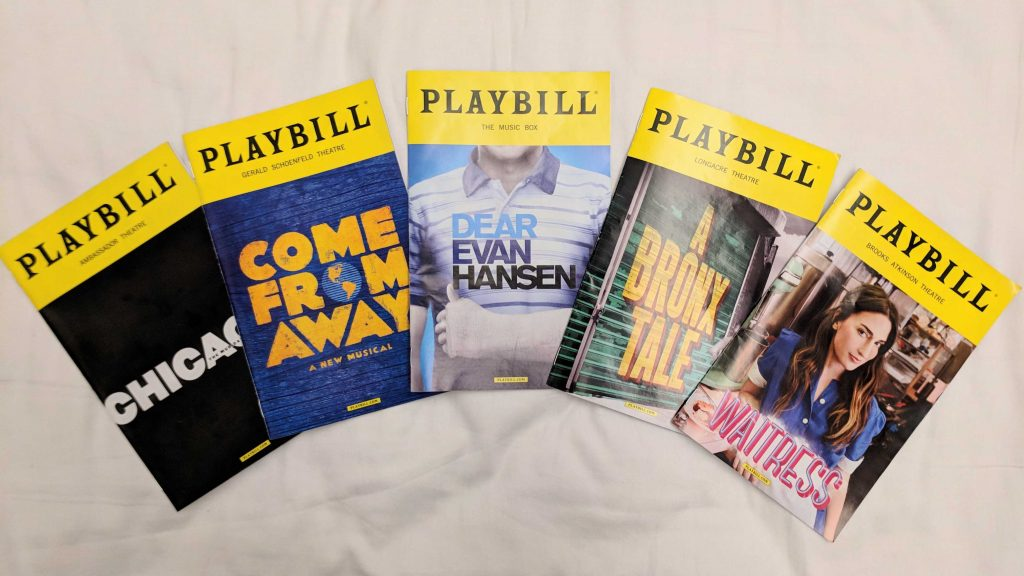 Musical Playbills