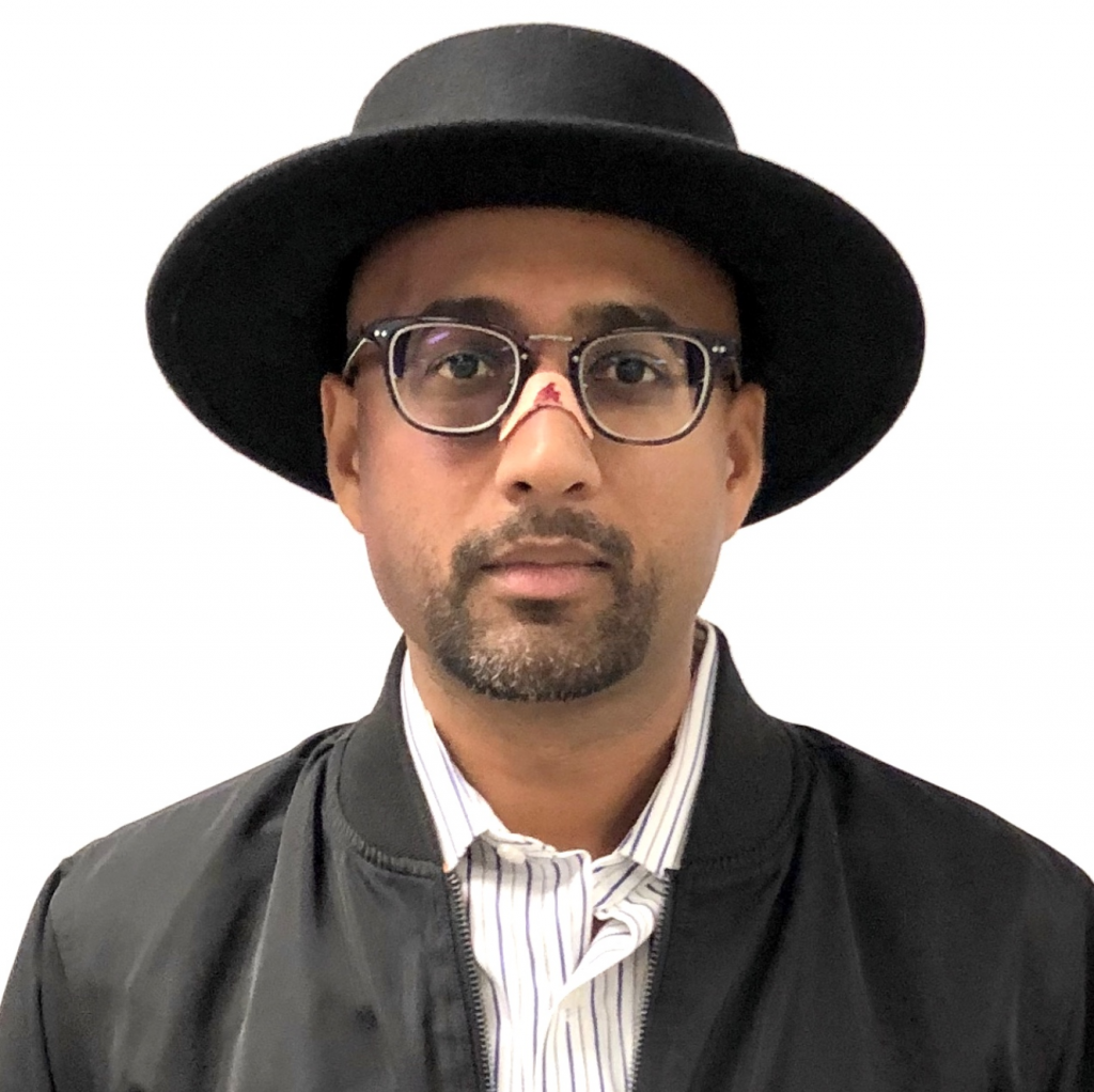 Sundeep dressed as Walter White